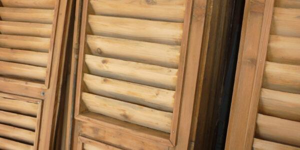 sabbiatura infissi legno